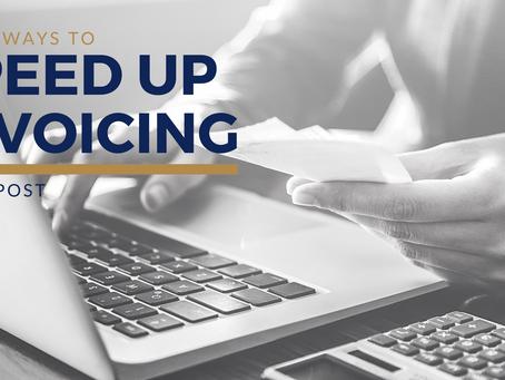 Three ways to speed up invoicing
