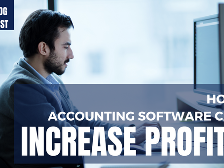 How Accounting Software Can Increase Profits