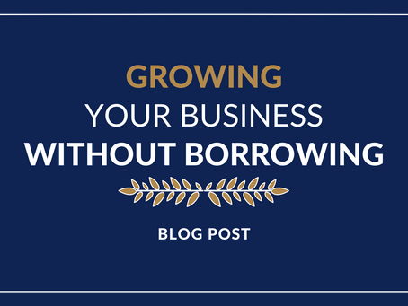Growing your business without borrowing