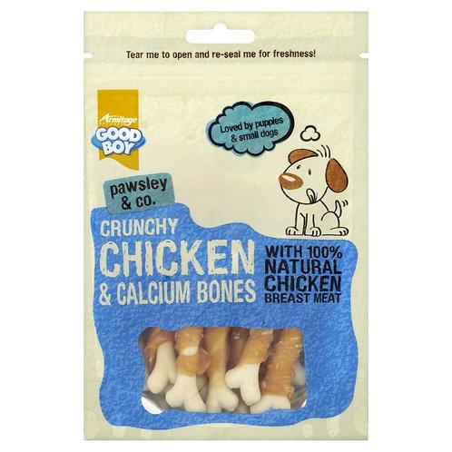 Crunchy Chicken Dumbells