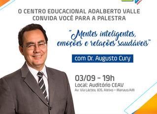 Palestra com o Dr. Augusto Cury