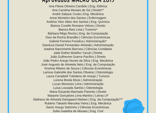 Aprovados Macro UEA 2019-2020
