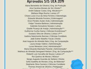 Aprovados SIS UEA 2029-2020