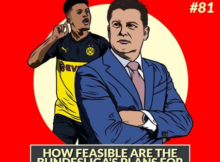 Predicting the Bundesliga's Return