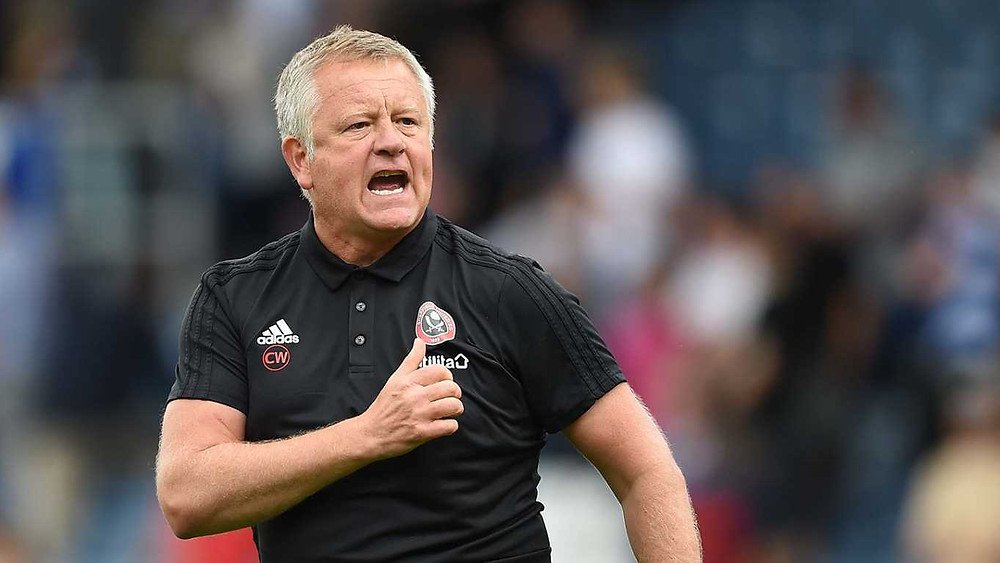 Sheffield United Manager, Chris Wilder