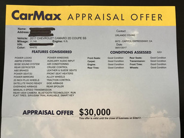 How to sell your car online to Carmax (Carmax.com): Its not actually Online