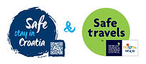 Safe stay in Croatia+WTTC Safe travels_s