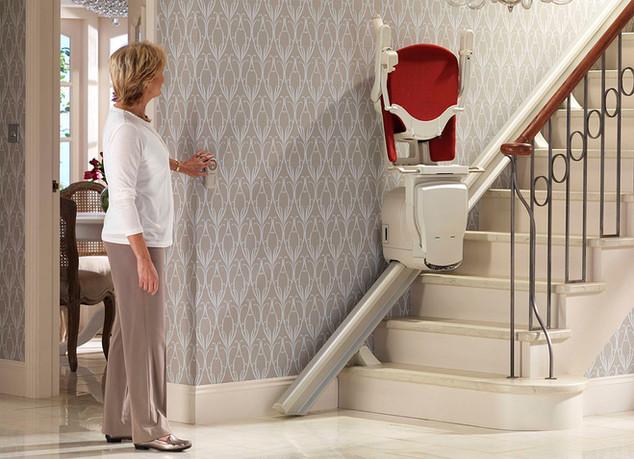 Treppenlift statt Altersheim?