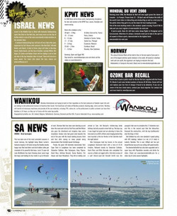 Kiteboarding magazine