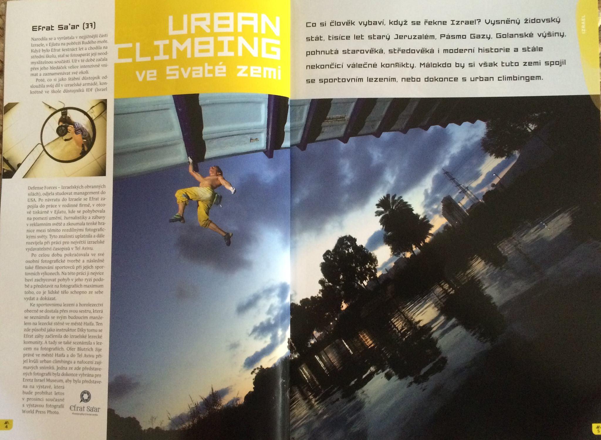 Climbing Magazine Ofer Blutraich