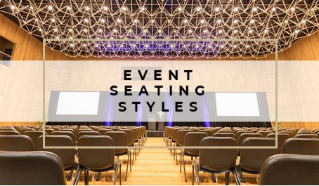 EVENT DESIGN: Choosing the best seating style for your audience