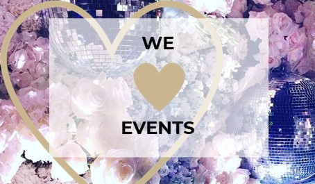 WHY WE LOVE EVENTS