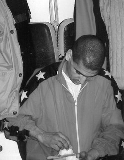 Coulisses combat muay thai Mohamed Majdoubi