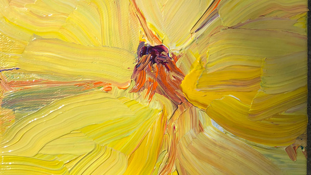 YELLOW FLOWER - SOLD