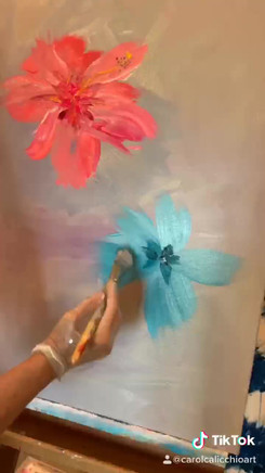 Learn how to paint Hibiscus flowers!