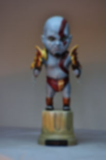 God of war baby figure figurine resine resin statue bensculpt creations benscluplt creations
