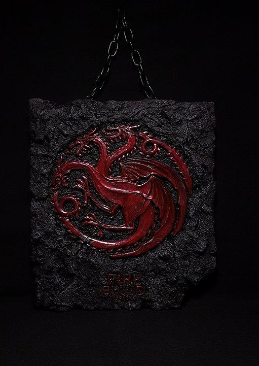 Wall Plaque Targaryen Game of Thrones bensculpt creations