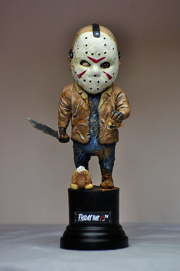 Jason baby figure figurine resine resin friday the 13th vendredi 13 bensculpt creations bensculptcreations horreur horro figure