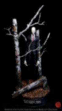 slendeman statue bensculpt creations