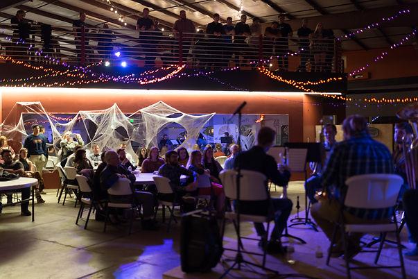 MCB performing at New Main Brewery