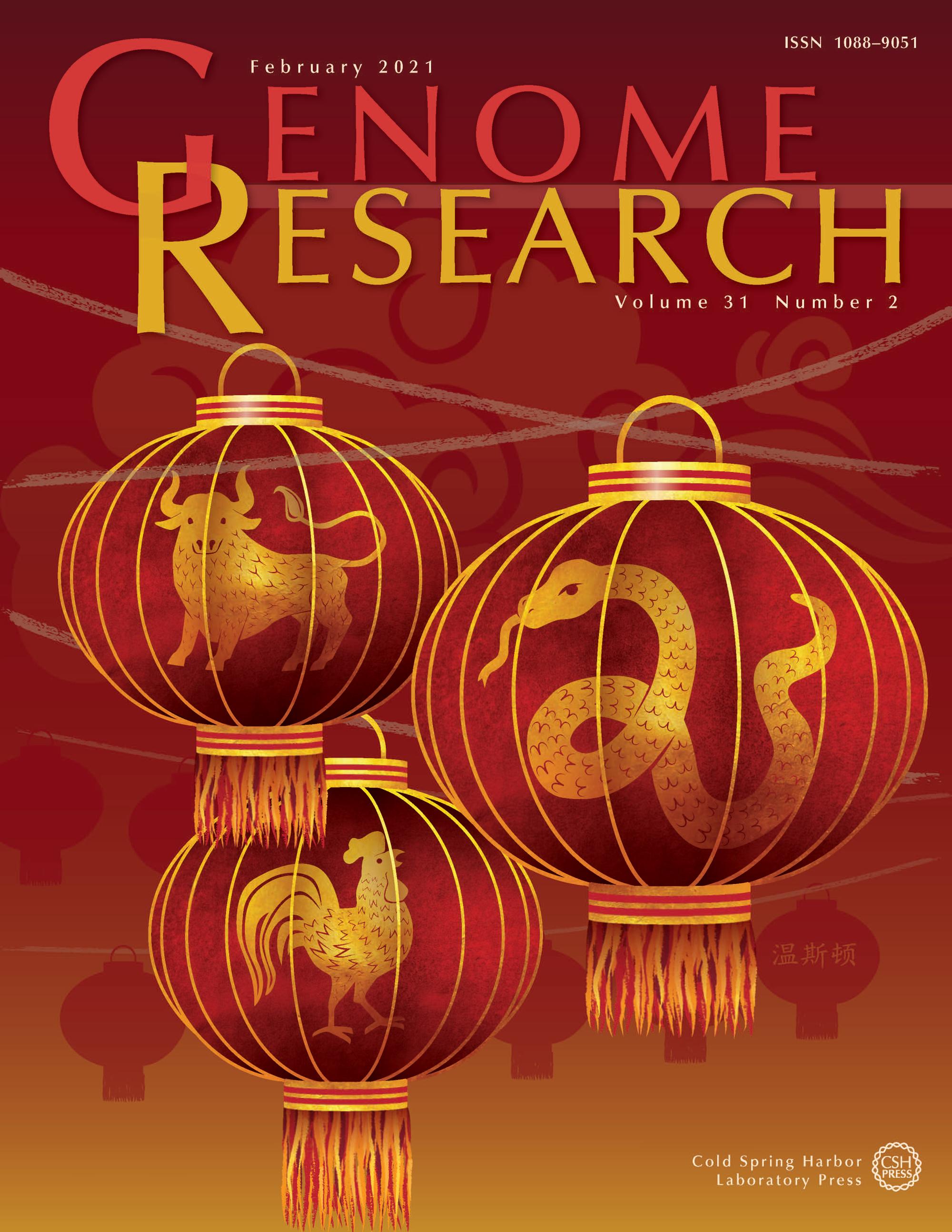 Genome Research Cover