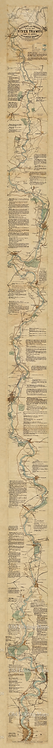 The Oarsman's & Angler's Map of the River Thames
