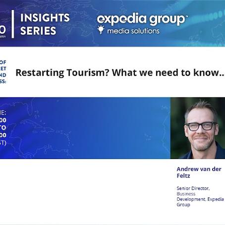 """OMT invita: webinar en inglés """"¿Reiniciar el turismo? Lo que necesitamos saber"""""""