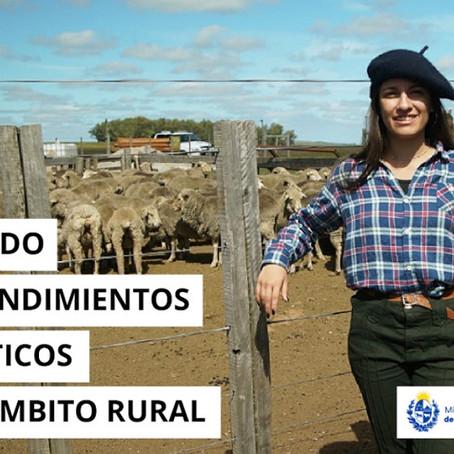 """MINTUR convoca al llamado de """"Apoyo a emprendimientos turísticos en el ámbito rural"""""""
