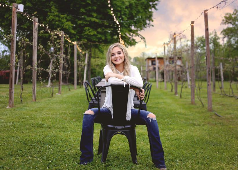 jessie arras- Senior photography - famil