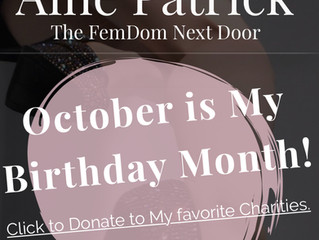 Birthday Giving...