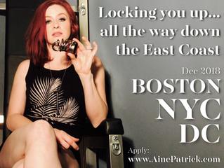 DC, NYC, BOSTON- you'll soon be Mine.