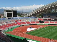 Vista del Nuevo Estadio Nacional de Costa Rica inaugurado el 26 de marzo del 2011. (Image by MadriCR via Wikipedia)