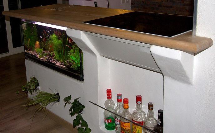 affordable les deux bars ont t fabriqus entirement surmesure en bton cellulaire with bar en siporex. Black Bedroom Furniture Sets. Home Design Ideas