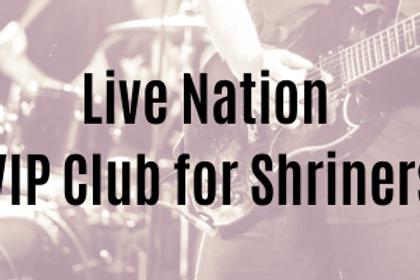 Live Nation VIP Membership