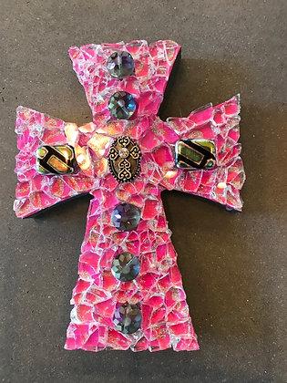 Hot Pink Cross
