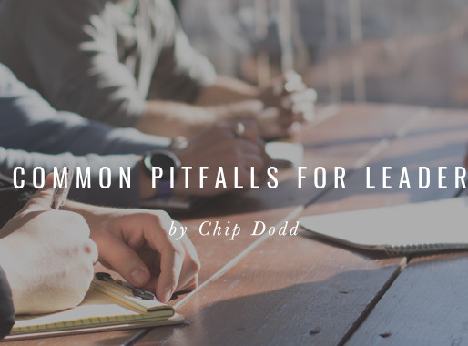 Five Common Pitfalls for Leaders
