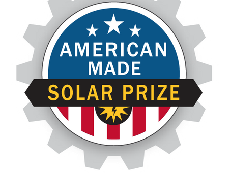 American Made Solar Prize