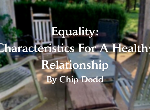 Equality: Characteristics for A Healthy Relationship