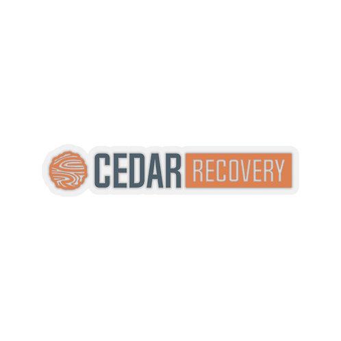 Cedar Recovery Sticker