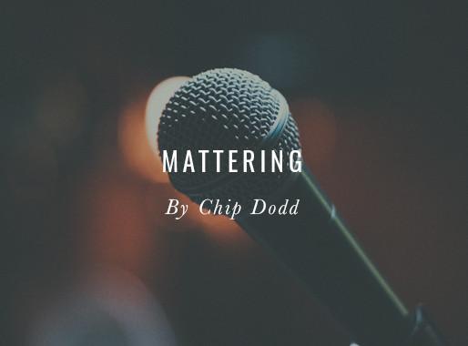 Mattering