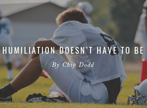 Humiliation Doesn't Have to Be