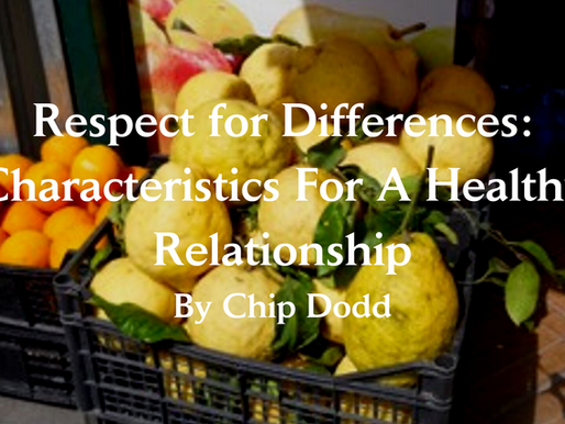 Respect for Differences: Characteristics for A Healthy Relationship