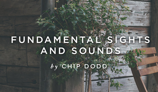 Fundamental Sounds and Sights