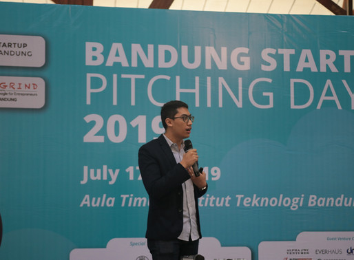 Launcher.id became start-up finalist at Bandung Startup Pitching Day 2019