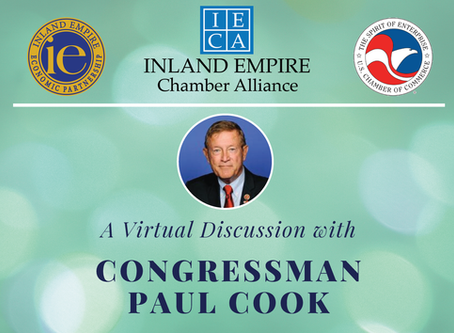 A Discussion with Congressman Paul Cook