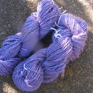 Purple wool, Alpaca Skeins