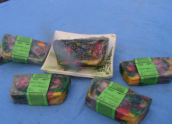 Rainbow Energy Soap