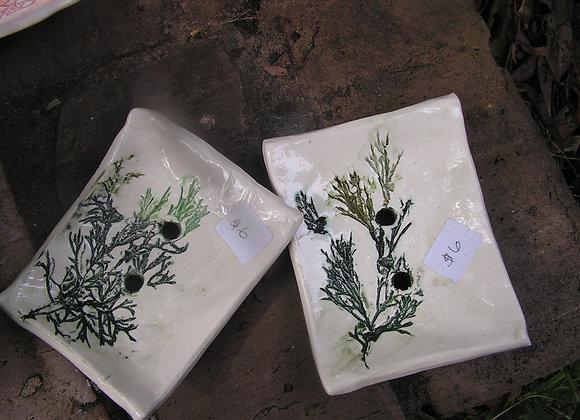 Juniper Leaf Soap Dish