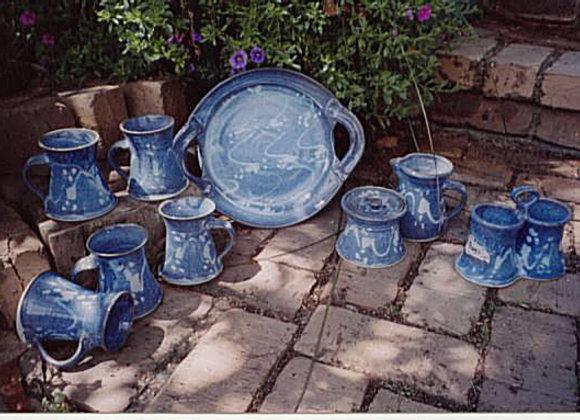 Blue Opal Domestic Ware Set