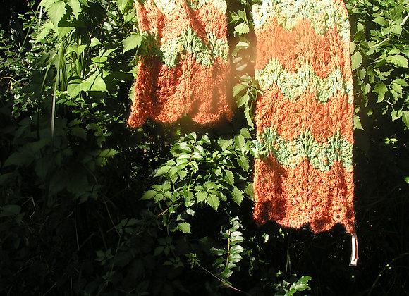 Wool, Mohair and Alpaca Scarf